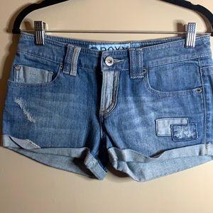 Roxy Jean Shorts size 5